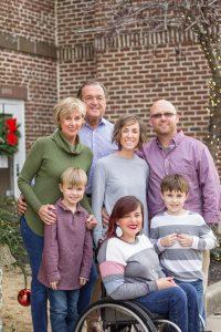 family brick background